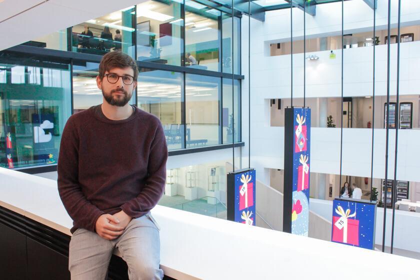 Digitale Leute - Tobias Röver - Microsoft - Tobias steht uns im Dezember 2016 führt ein Interview über seinen Job bei Microsoft zur Verfügung.