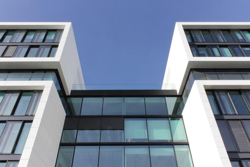 Digitale Leute - Tobias Röver - Microsoft - Moderne Architektur der Deutschlandzentrale von Microsoft in München.