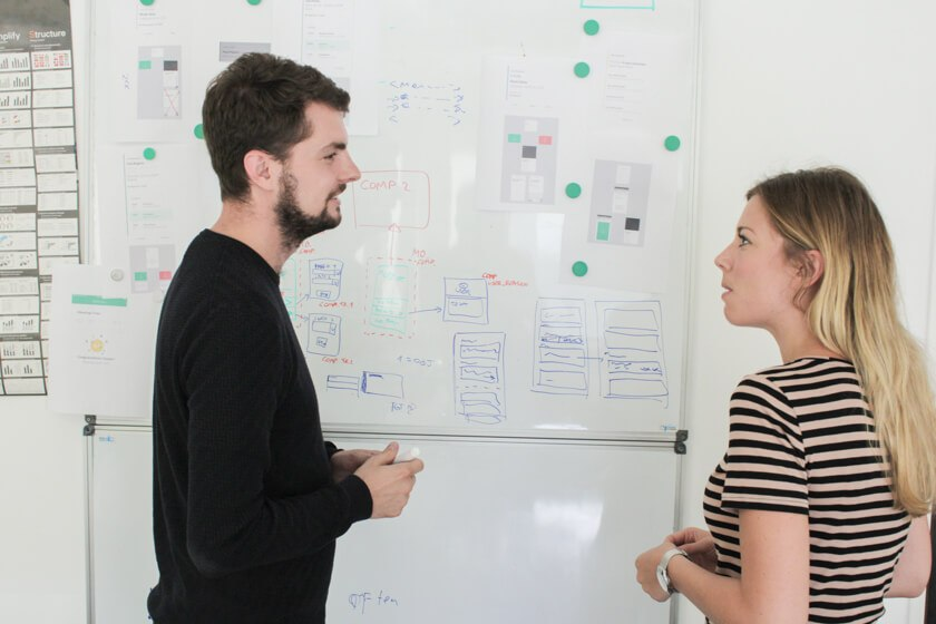 Digitale Leute - Daan Löning - Helpling - Whiteboards sind immer noch super wichtig im Büroalltag.