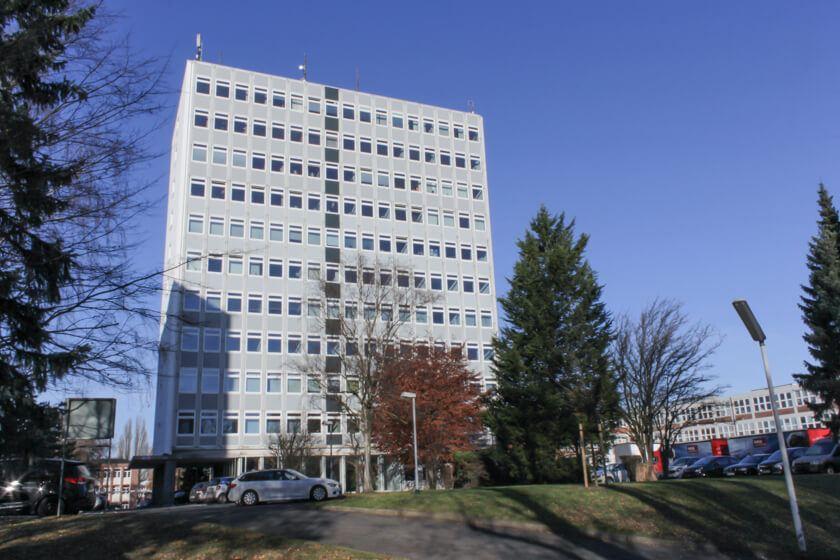 Digitale Leute - Kerstin Timm - Artaxo - Das Bürogebäude in dem die Agentur Artaxo unter dem Dach arbeitet.