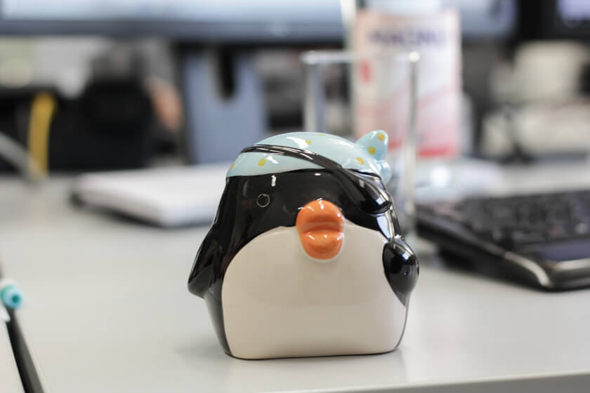 Digitale Leute - Kerstin Timm - Artaxo - Ein Piratenpinguin darf in keinem Office fehlen!