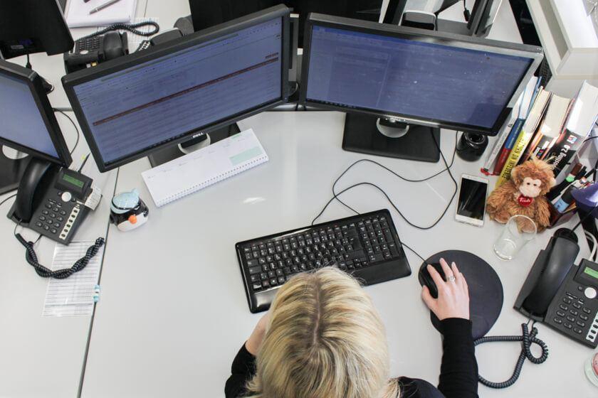 Digitale Leute - Kerstin Timm - Artaxo - Der Arbeitsplatz von Kerstin Timm bei Artaxo in Hamburg.