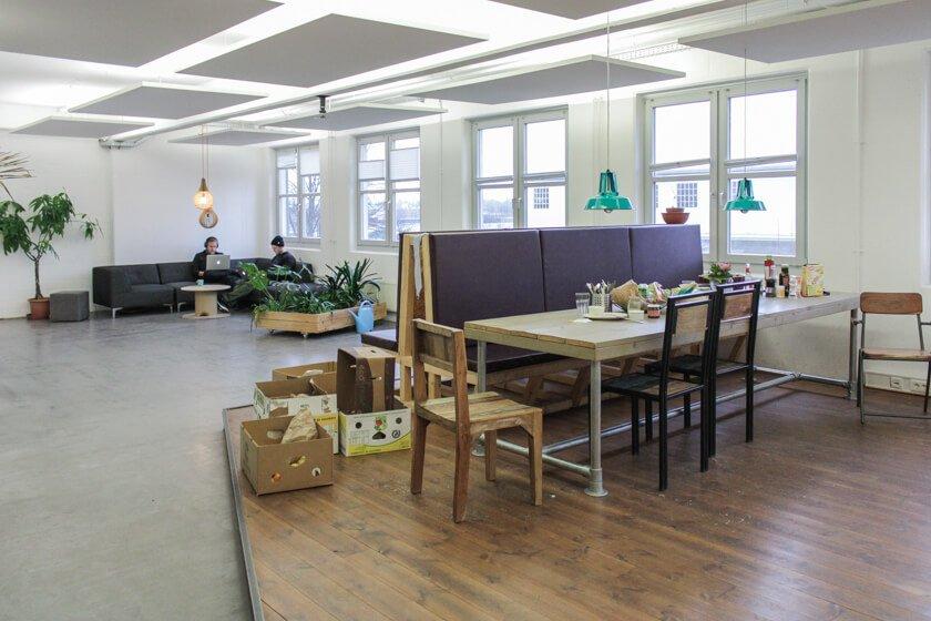 Ingo Ellerbusch - Jimdo - Auf jeder Etage gibt es eine Küche. So auch hier.