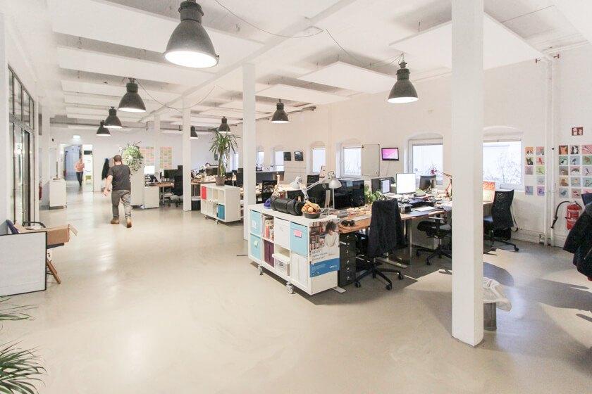 Ingo Ellerbusch - Jimdo - Ein weitereer Office Space bei Jimdo in Hamburg.