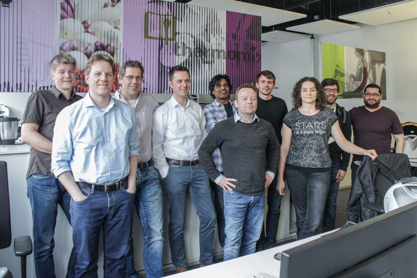Digitale Leute - Mario Wallmeyer - Vorwerk - Die Abteilung Softwareentwicklung, dessen Leiter Mario Wallmeyer ist.