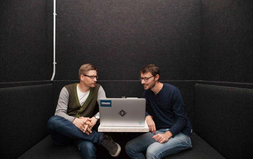 Digitale Leute - Martin Junker - Idealo - Bei Idealo gibt es verschiedene Möglichkeiten eine Besprechung zu halten.