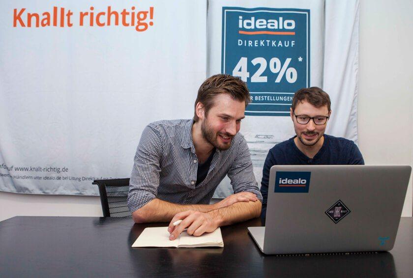 Digitale Leute - Martin Junker - Idealo - Martins Arbeit besticht wie oft in der digitalen Produktentwicklung durch Teamarbeit.