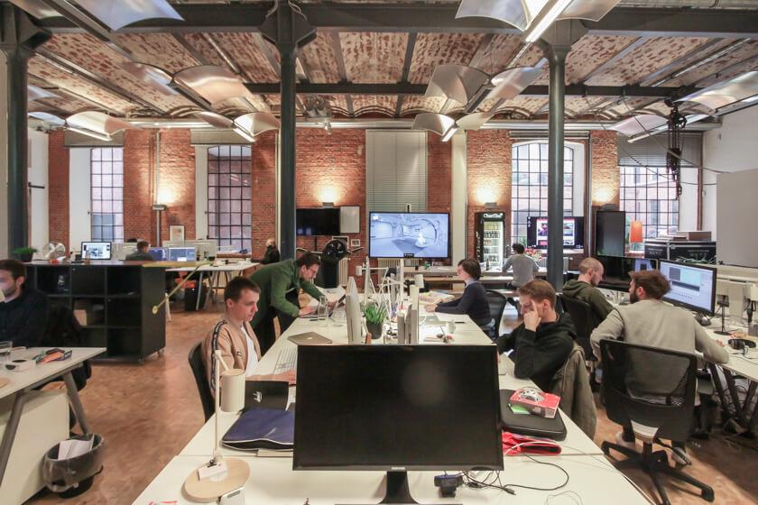 Digitale Leute - Mariana Gütt - Demodern - Die Office-Räume von Demodern in Hamburg.