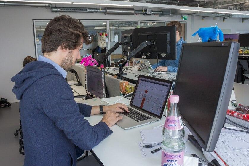 Digitale Leute - Markus J. Doetsch - Rocket Internet - Der Arbeitsplatz von Director Markus J Doetsch bei Rocket Internet.
