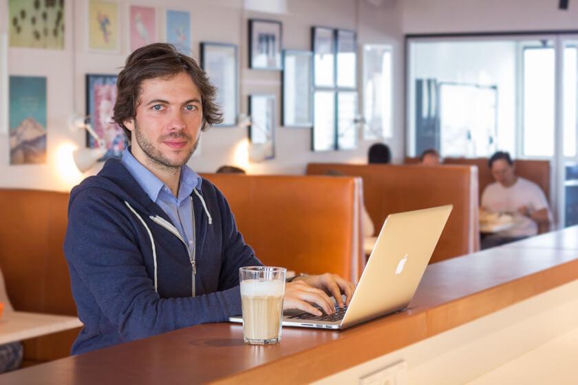 Digitale Leute - Markus J. Doetsch - Rocket Internet - Markus arbeitet und lebt zusammen mit seiner baldigen Frau in Berlin.