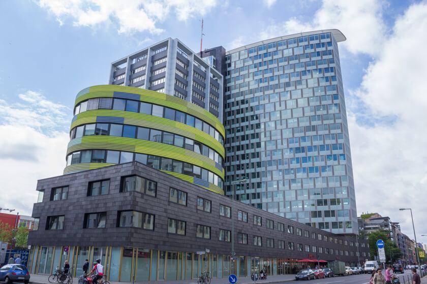 Digitale Leute - Markus J. Doetsch - Rocket Internet - Der Rocket Internet Tower in Berlin, in dem wir das Interview mit Markus geführt haben.
