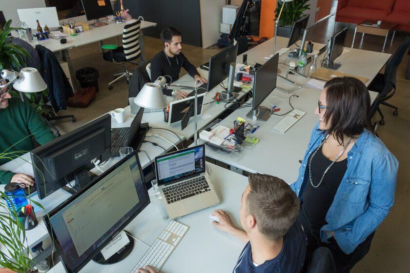Digitale Leute - Nadia Vinciguerra - ecx.io - Teil eihres Teams befinden sich in wien und in Kroatien, teile aber auch in Düsseldorf.