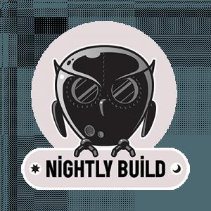 nightly build logo