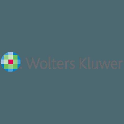 Das Logo von Wolters Kluwer für die Partner-Kategorie.