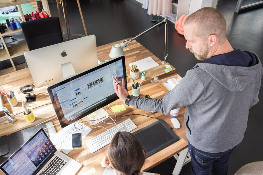 Ben Müller, Designer bei Silberpuls
