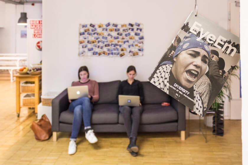 Digitale Leute - Adrienne Ossko - EyeEm - Kern bei EyeEm sind Photographien, wobei Videos jetzt auch dazugekommen sind.