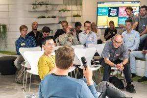 Katja Burkert auf DL Meetup