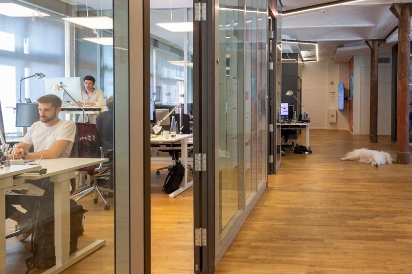 Die Böroräume von BCGG Digitale Ventures.