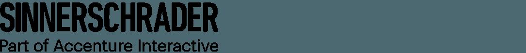 Das Logo von SinnerSchrader.