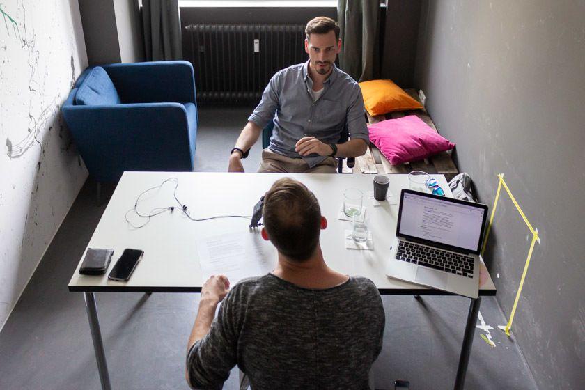 Christoph Bresler im Gespräch mit Christoph Eikmeier über UX und UI bei Chefkoch.de.