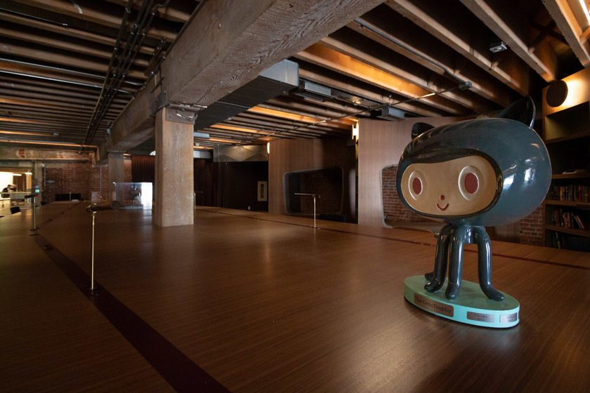 Im Office von GitHub, San Francisco