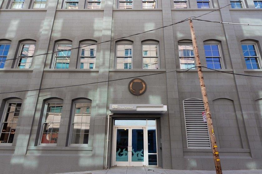 GitHub, Headquarter in San Francisco
