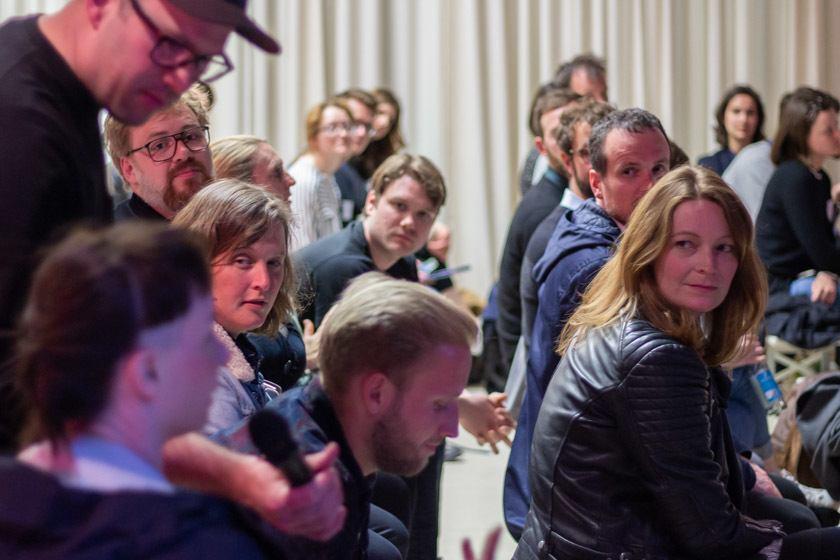 Fragen aus dem Publikum.