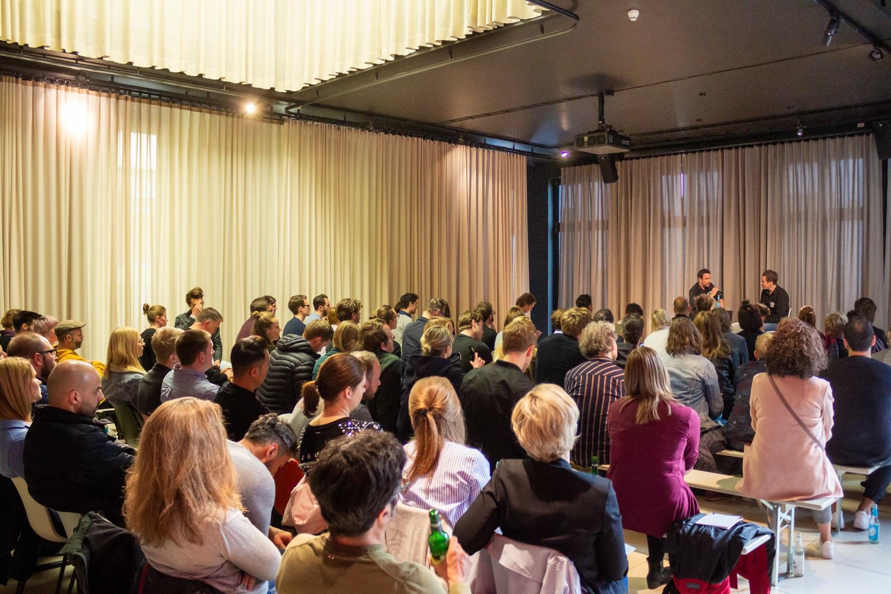 Das Digitale Leute Meetup in Hmaburg bei SInnerSchrader.