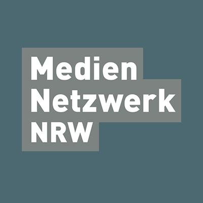 Das Logo des Mediennetzwerk NRW.
