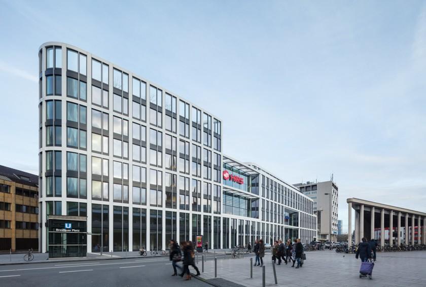 Das Headquarters der HRS Group in Köln.