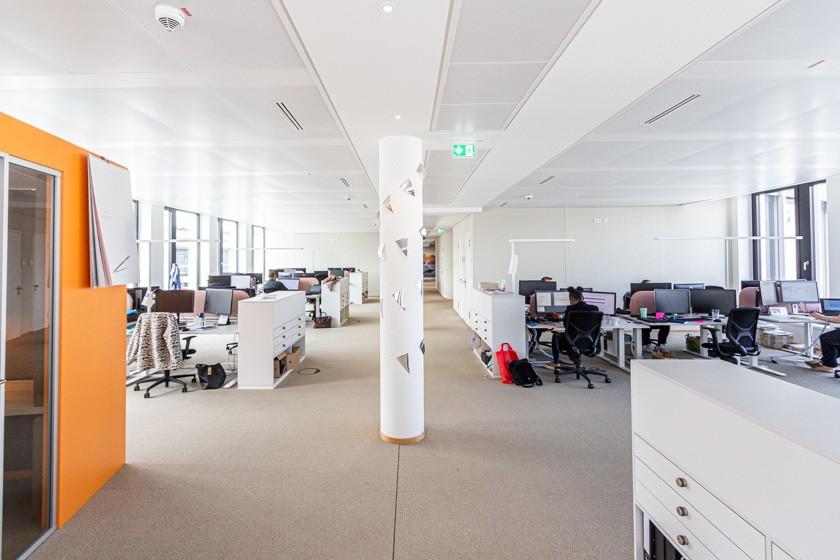 Das neue Office von HRS am Breslauer Platz in Köln.