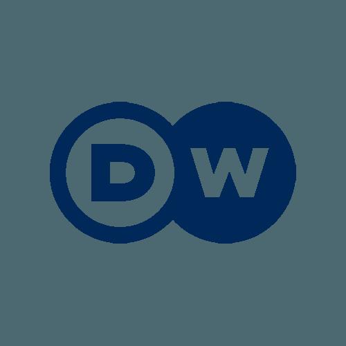 Das Logo der Deutschen Welle.