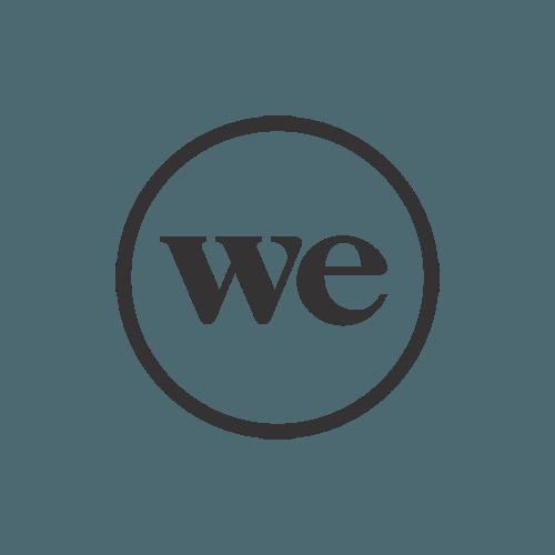 Das Logo der We Company.