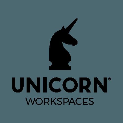 Das Logo von Unicorn Workspaces.