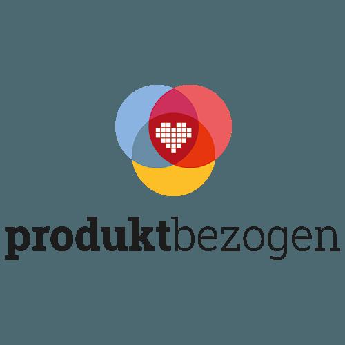 Das Logo von produktbezogen.de in einer zentrierten Variante.