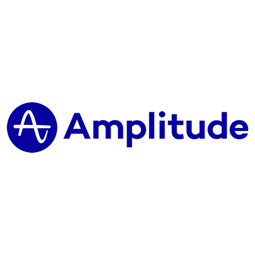 Das Sponsoren-Logo von Amplitude für den Digitale Leute Summit 2020.