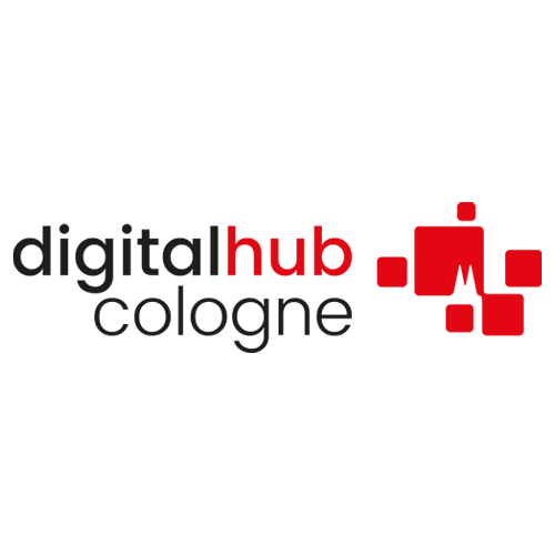 Das Logo des Digital Hub Cologne.