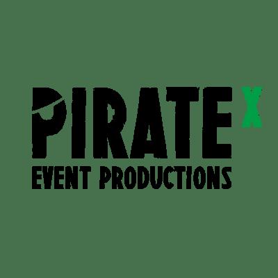 Das Logo der Eventagentur PirateX.