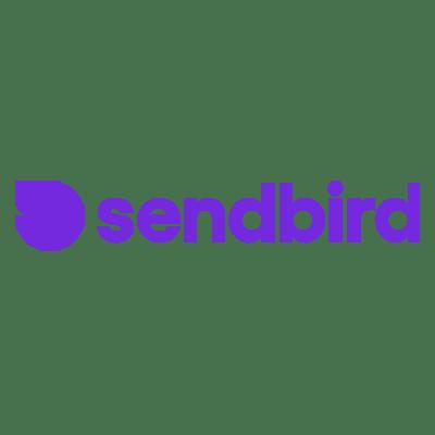 Das Logo von Sendbird.
